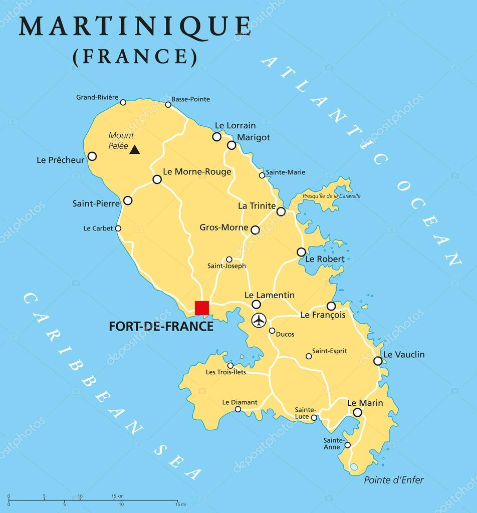 a report on martinique a country in the caribbean Digital maps in the caribbean final report prepared by a country report martinique, the british virgin islands (bvi), haiti.