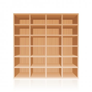 Rack Book Shelf Wooden Texture