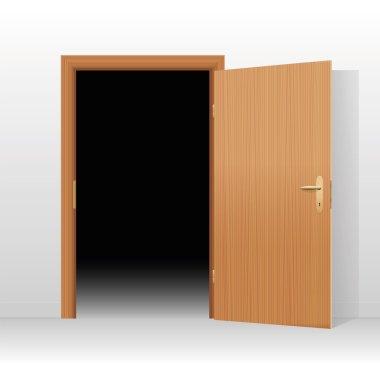Wide Open Door Dark Room
