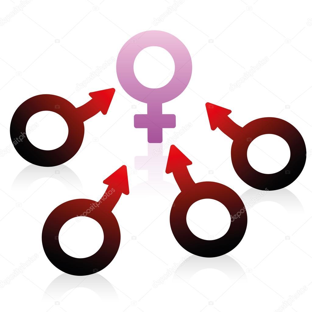 Lust desire male female symbol stock vector furian 86004248 lust desire male female symbol stock vector buycottarizona