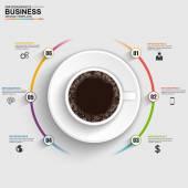 abstraktní 3d digitálních obchodních osy infographic