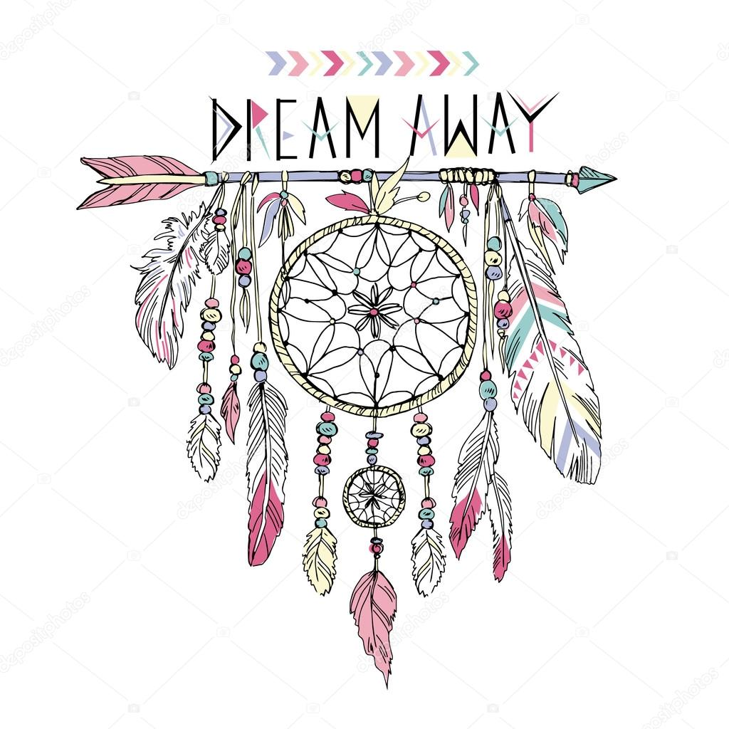 Dream Catcher Stock Vectors Royalty Free Dream Catcher