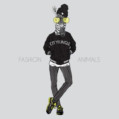 Fashion zebra animal