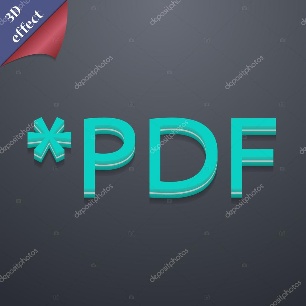 PDF file extension icon symbol  — Stock Vector © Logvinyk #60147697