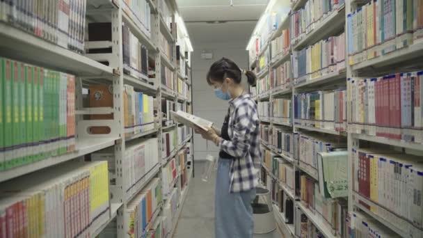 GUANGZHOU, Čína - 25. března 2019: Pohled na Guangzhou Library, Čína