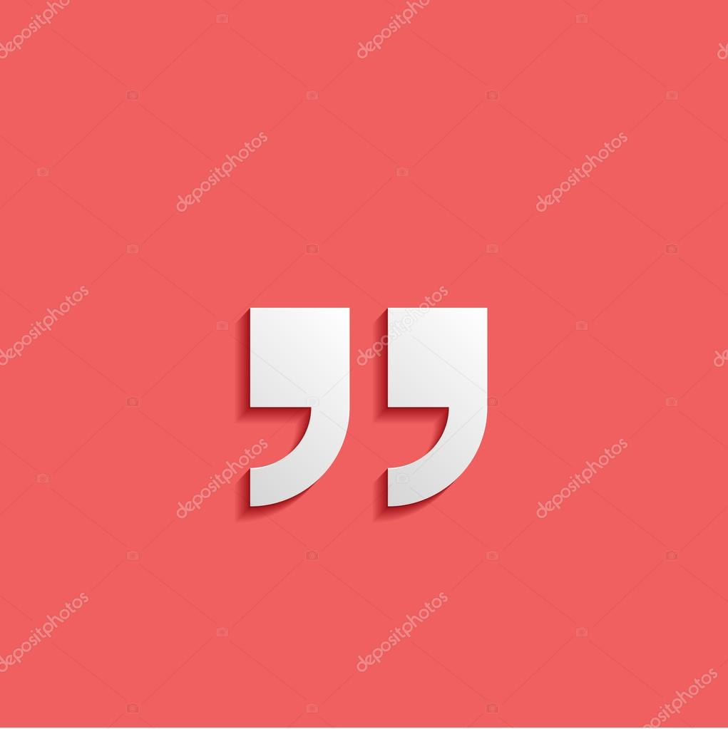 quotation mark symbol double quotes at the end of words quote s