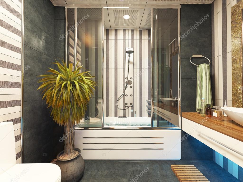 Badkamer Dekor Idees : Badkamer decor design u stockfoto sseven