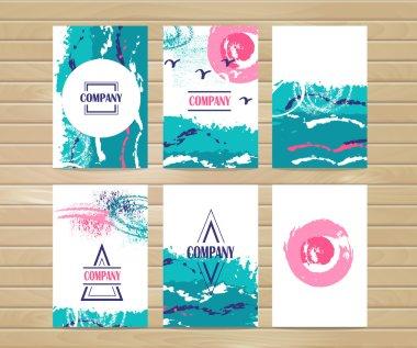 Stylish simple summers design