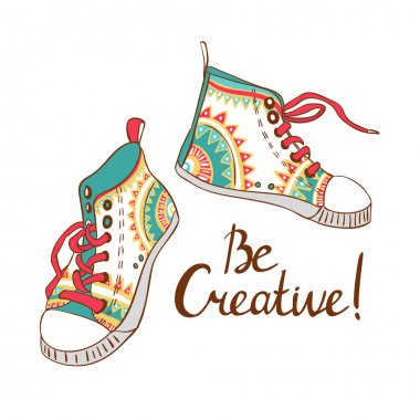 Be creative card