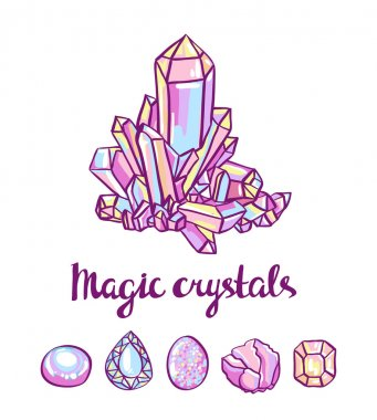 magical Jeweler crystals