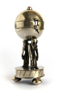 Jewish ritual art objects Silver Spice Box