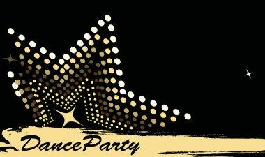 Horizontal dance club banner