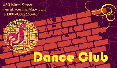 Retro dance club