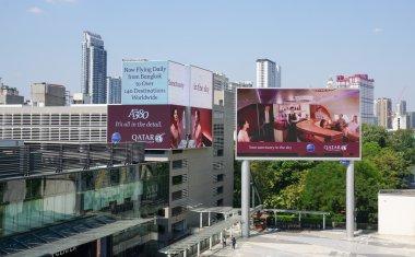 Siam Paragon mall in the Siam Square area in Bangkok