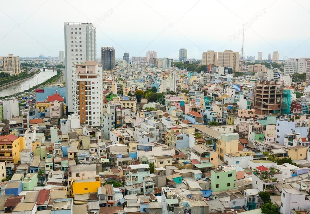 Paysage urbain de ho chi minh ville photo ditoriale - Piscine ho chi minh ville ...