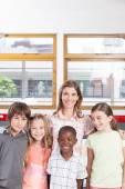 Fotografie Primary classroom schoolchildren
