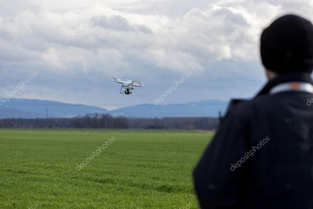 Controlling the drone