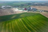 Fotografie Biogas-Fabrik