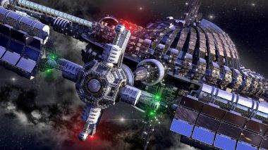 Spaceship Wheel in interstellar travel