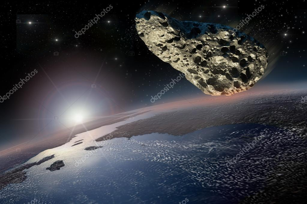 asteroids earth collision - 900×600