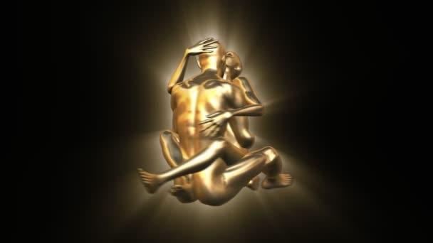 Jin jang zlatý pár