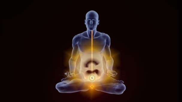 3D jóga meditace s čakry