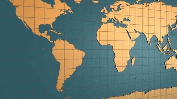 Skládání map země a zvětšování na Čínu