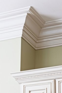 detail of expensive crown molding