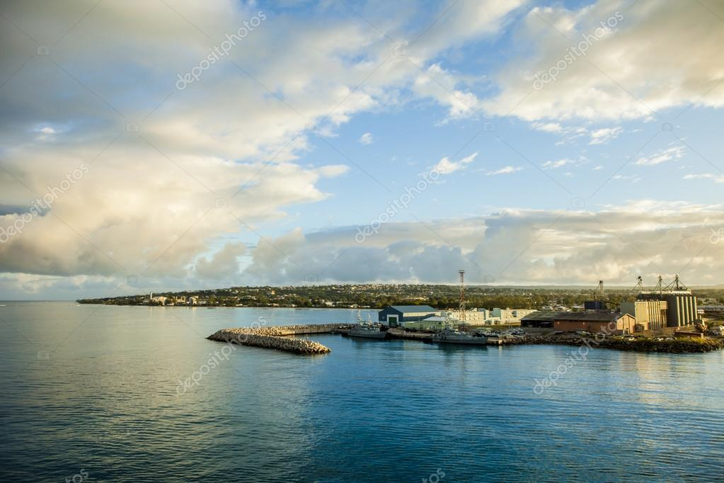 Фотообои harbor in Bridgetown, Barbados