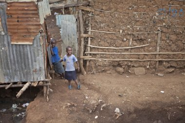 Children in Kibera, Kenya