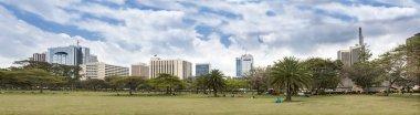 skyline of Nairobi