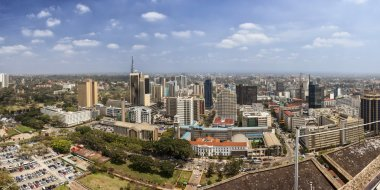 180 degree panorama of Nairobi, Kenya