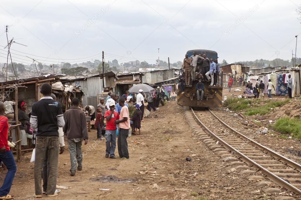 Kibera, Kenya — Stock Photo