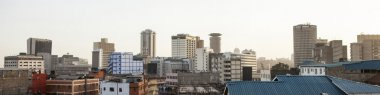 panorama of Nairobi, Kenya