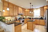 Fotografie krásné luxusní kuchyně