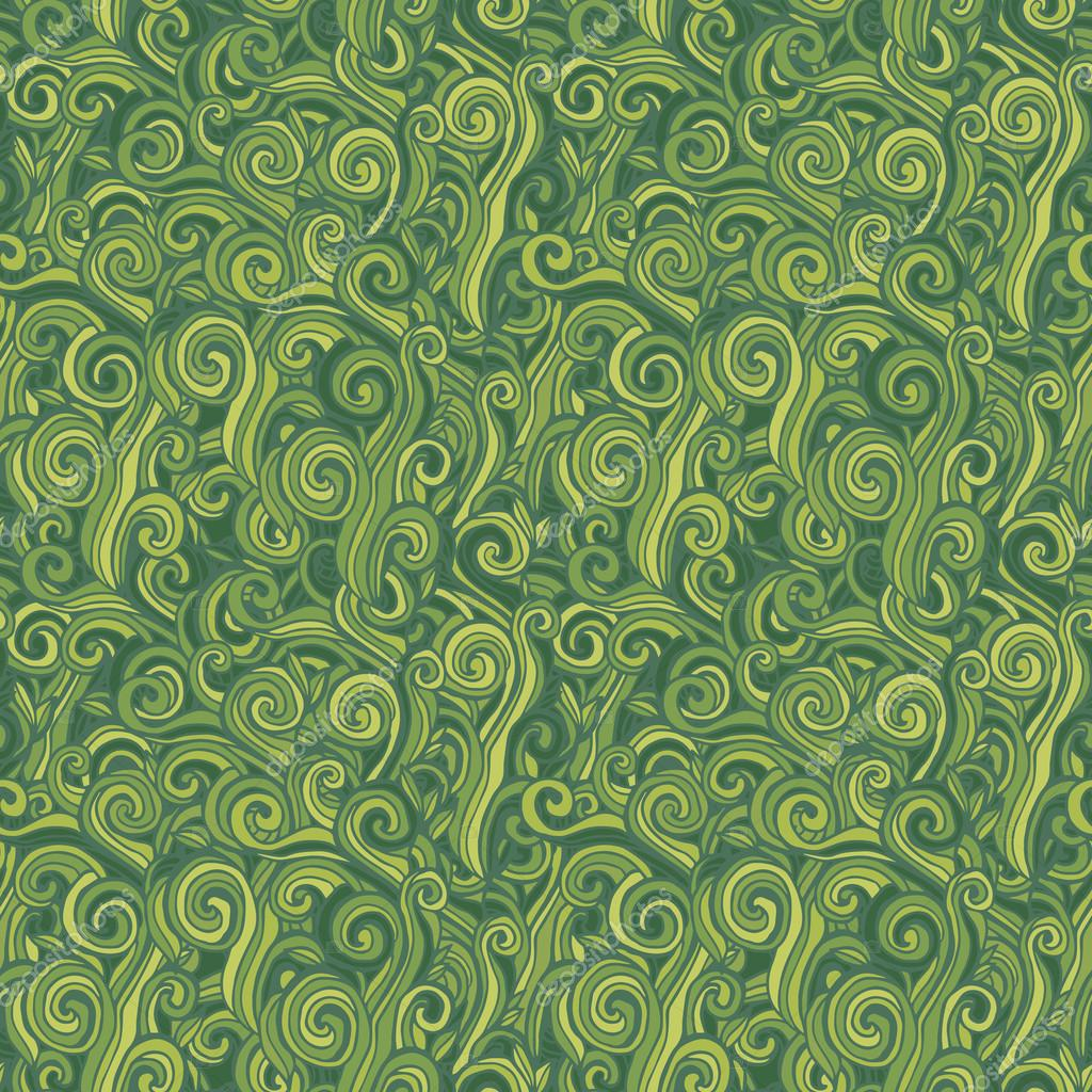 Green seamless pattern. Background with grass.
