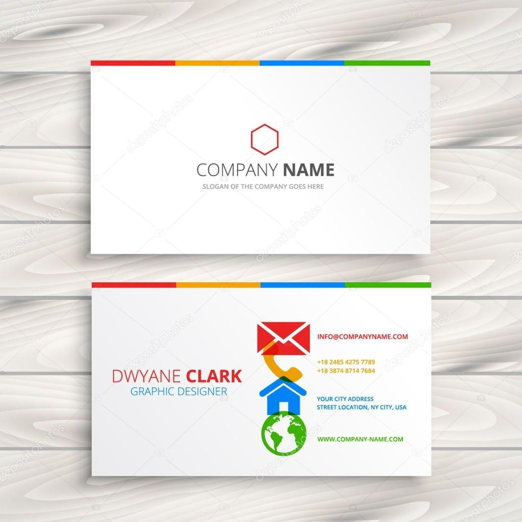 limpieza plantilla de tarjeta de negocio archivo imágenes