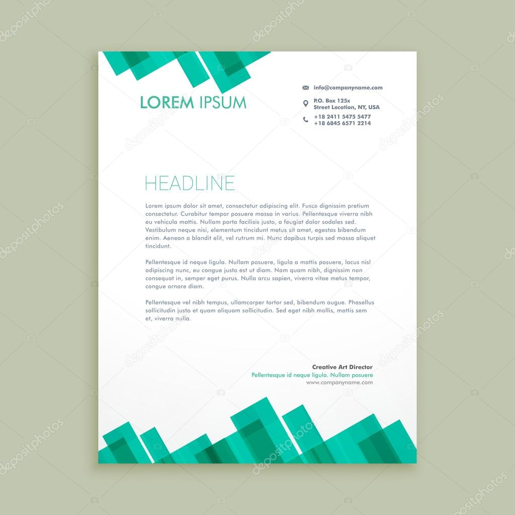 Abstract letterhead template vector illustrator stock vector abstract letterhead template vector illustrator stock vector spiritdancerdesigns Image collections