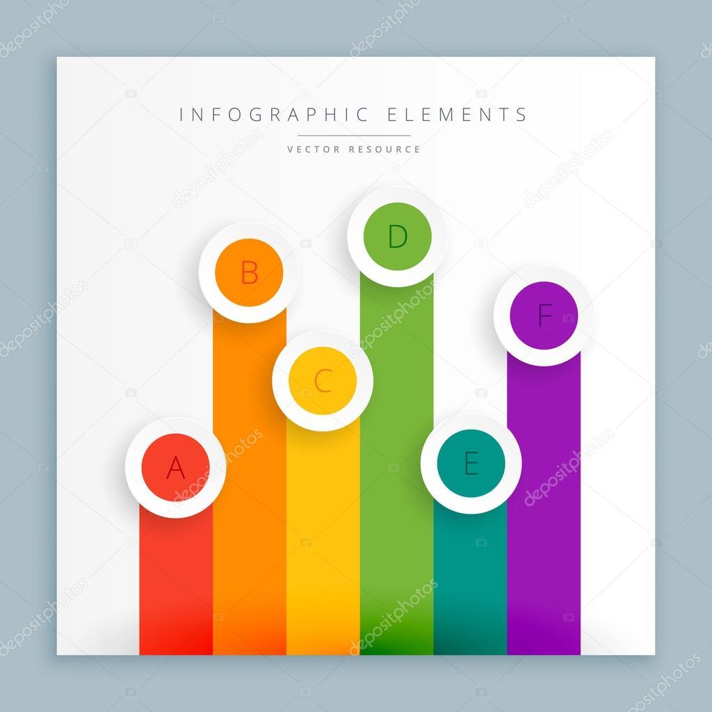 representación gráfica de barras de colores archivo imágenes