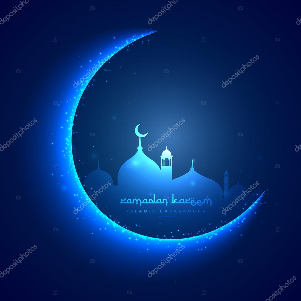 Eid greeting card with moon and masjid stock vector starline eid greeting card with moon and masjid stock vector m4hsunfo