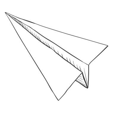 Sketch Paper Plane