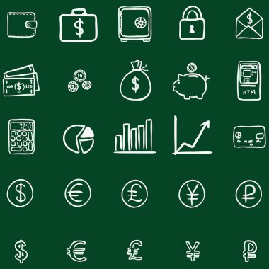Doodle Finance Icons