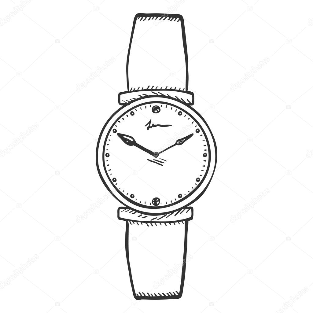 wrist watch coloring pages - photo#19