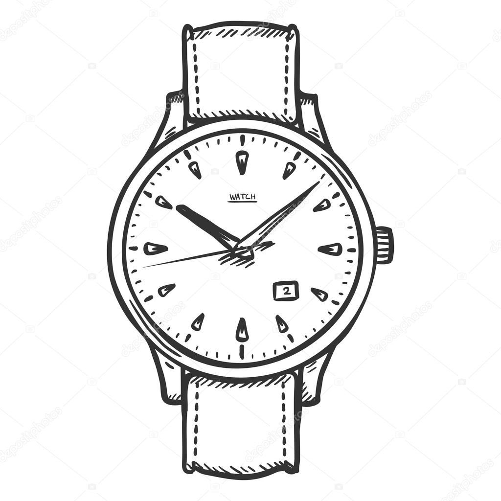 wrist watch coloring pages - photo#17