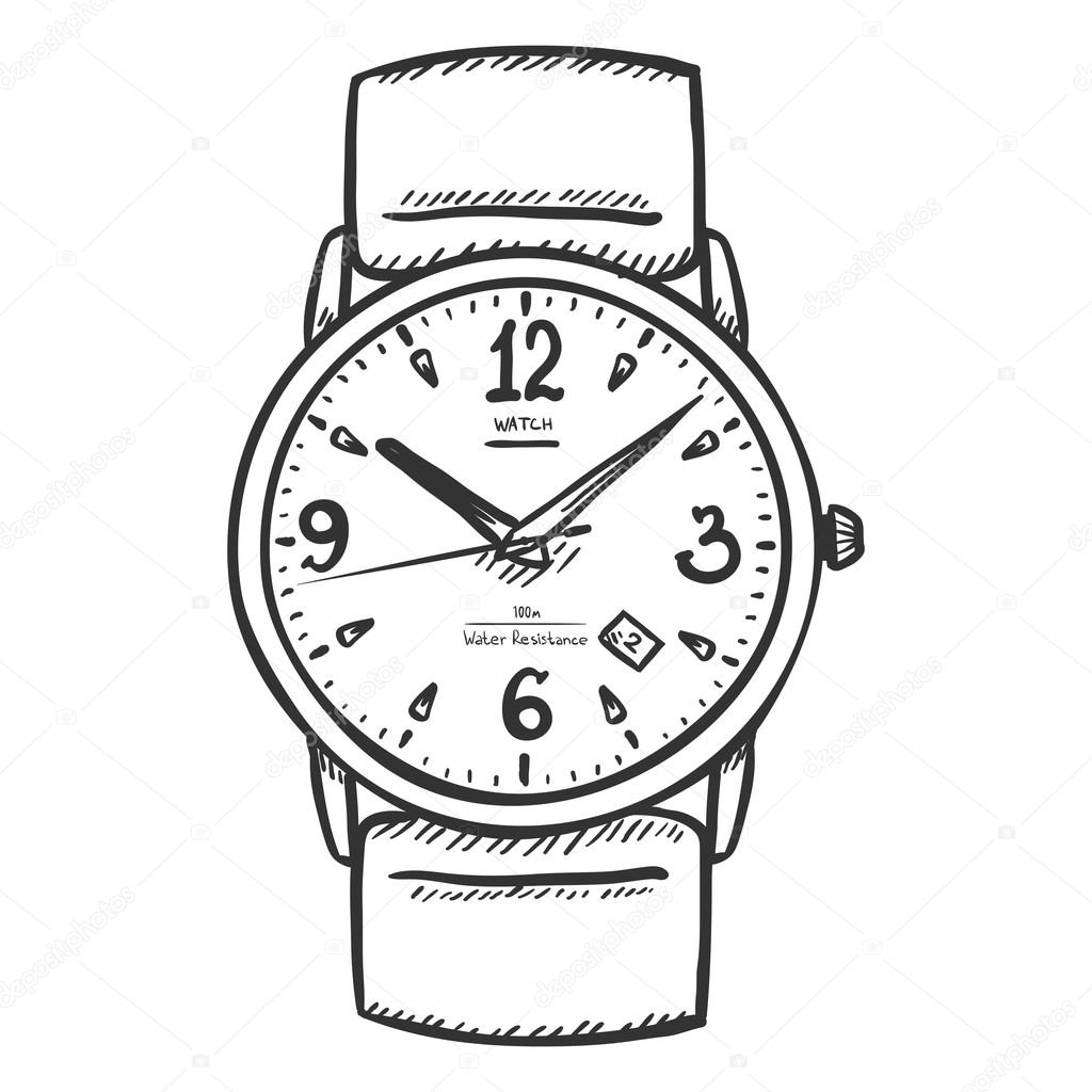 wrist watch coloring pages - photo#15