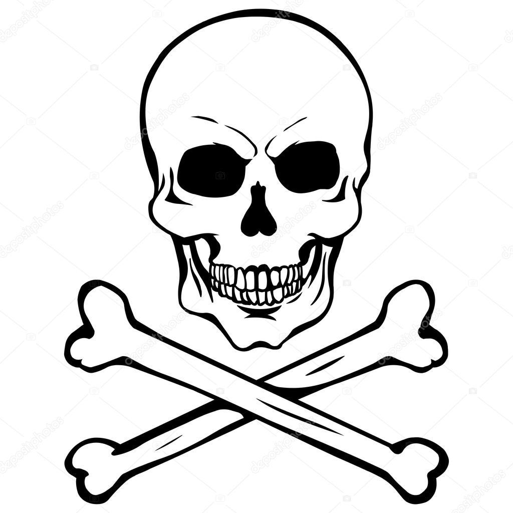 Calavera Pirata Archivo Imágenes Vectoriales Nikiteev 51893215