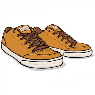 Brown Skaters Shoes