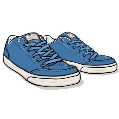 Cartoon  Skaters Shoes