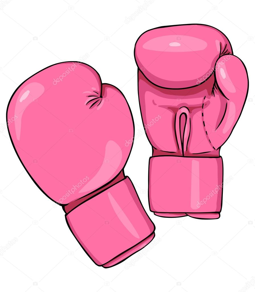 Pink boxing gloves stock vector nikiteev 57631463 pink boxing gloves stock vector sciox Gallery