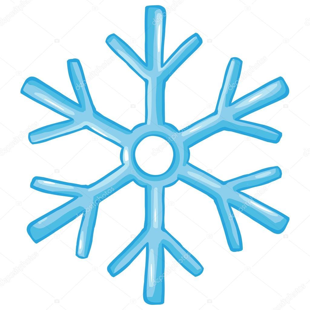 Vector Cartoon Winter Icon